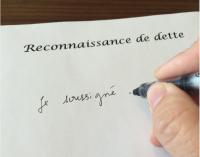 PRESCRIPTION DE SA RECONNAISSANCE DE DETTE: COMMENT CONSERVER  SON DROIT?